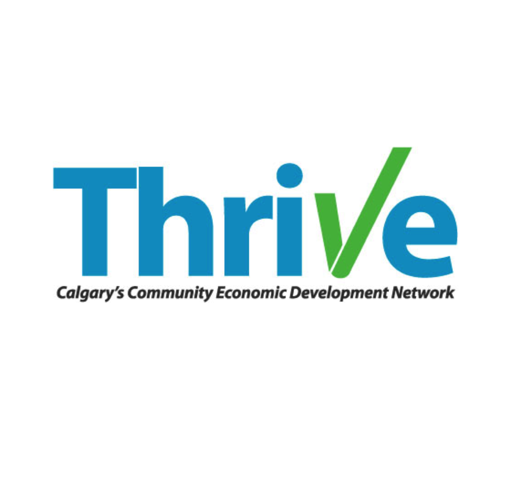 THRIVE:   Facilitating connection between i  ndividuals, nonprofits, business and government to build a thriving local economy via CED.     Network Power + Aligning Efforts       #CED  #yyc