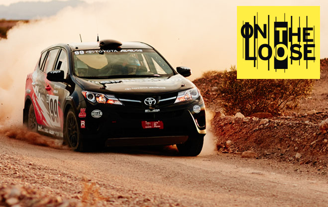 EVENT/ COMMUNICATIONS - RAV4 On the Loose  CLIENT - Toyota Motor Sales  Created and managed Toyota RAV4 rally team and documented their season in 10-part video series