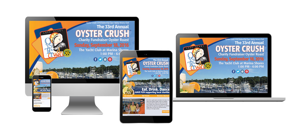 Oyster Crush Charity Fundraiser