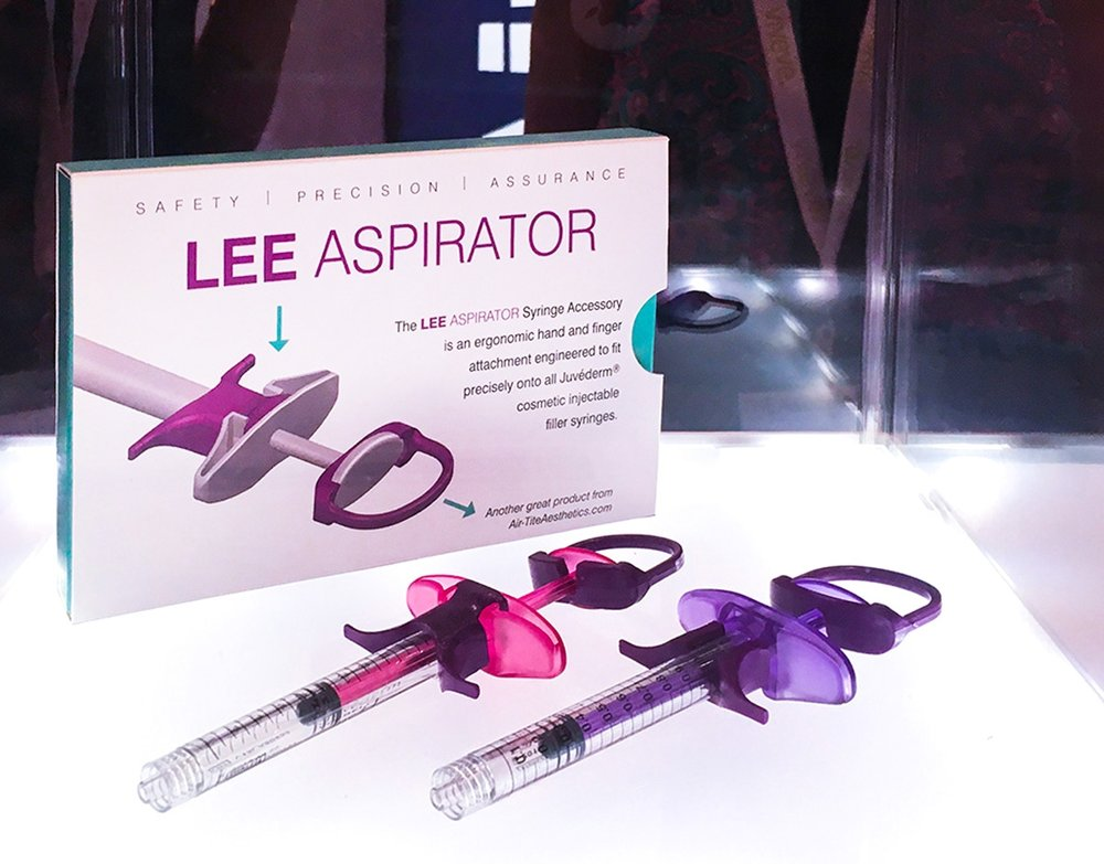 The LEE Aspirator with sliding box design by Burgopak
