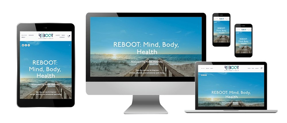 REBOOT: Mind, Body, Health website