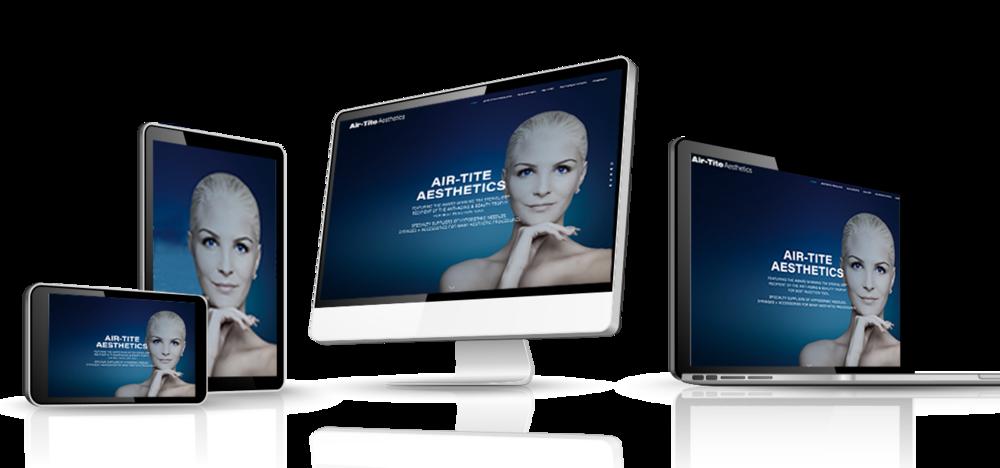 Air-Tite Aesthetics responsive website