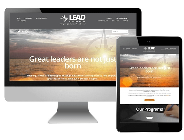 LEAD Hampton Roads website