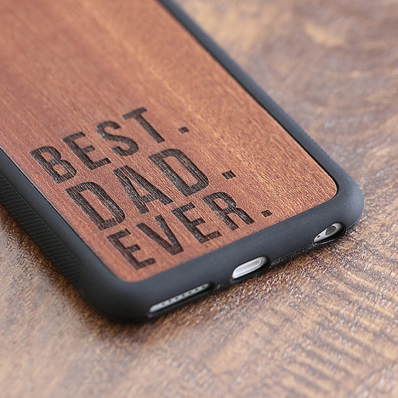 Mobile phone cover - Keep his phone safe and loved.