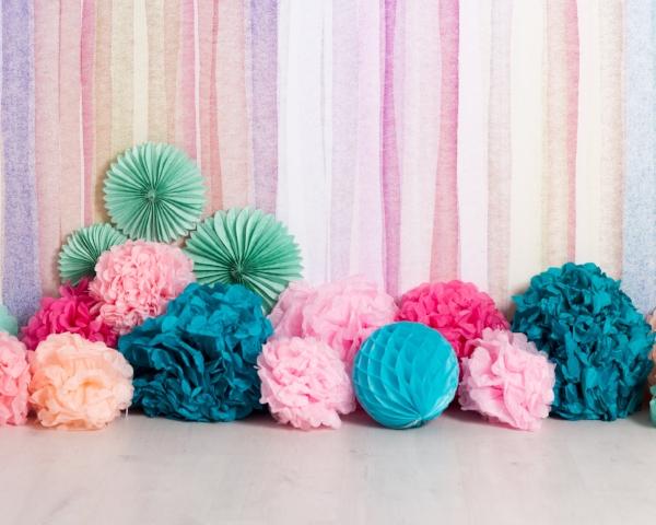 multicoloured cakesmash birthday shoot