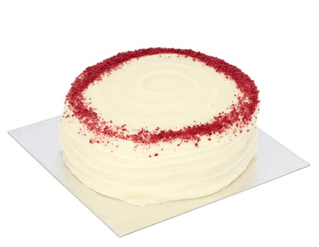 TESCO red velvet cake