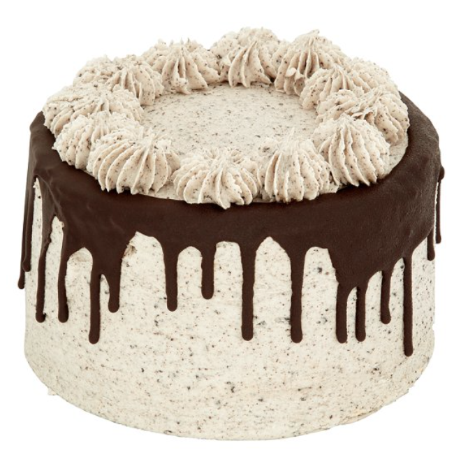 TESCO unisex cookies and cream drip cake