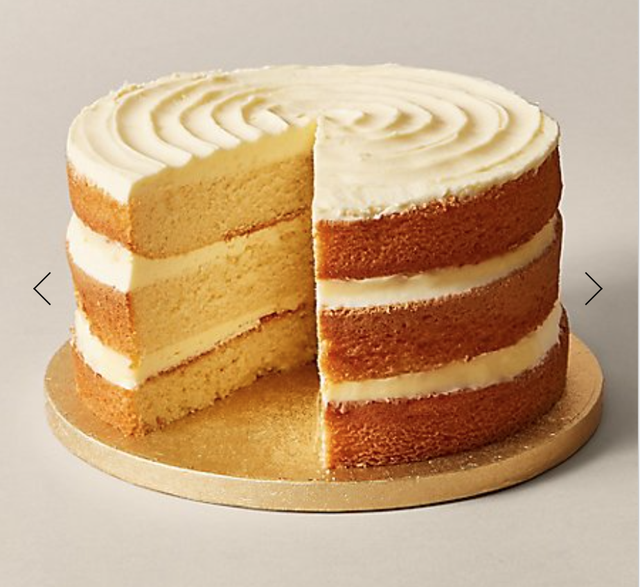 M&S unisex vanilla layer cake