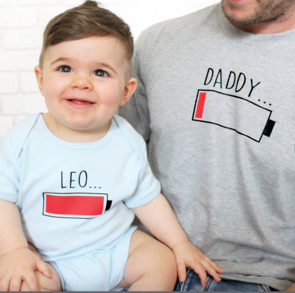 daddy and child t-shirts