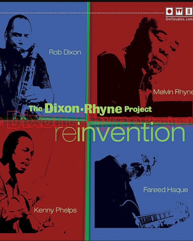 2. Reinvention - Released in 2008 by The Dixon Rhyne Project. This is for crossover fans, with modern jazz and bop organist legends meeting in the middle of hard bop and contemporary. Available on iTunes.