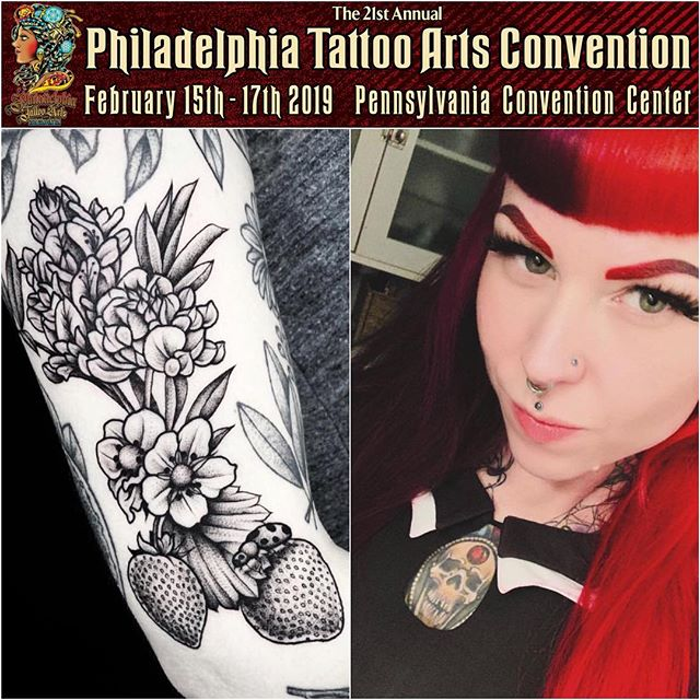 Tomorrow we leave for the @villainarts Philadelphia Tattoo Arts Convention and will be joined by the amazing @therubygore. This show is always a good time. Stop by the booth to say hello, grab some samples, and get wrapped • #philadelphiatattooconvention #philadelphia #philadelphiatattoo