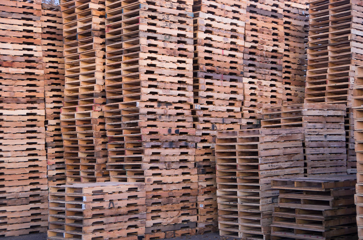 Recycled Wood Pallets | Gruber Pallets Inc.