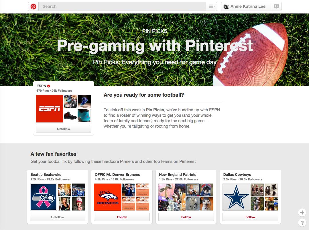 57ce4a86e Pre-gaming with Pinterest — Annie Katrina Lee