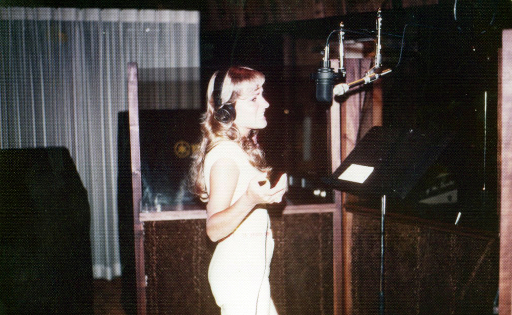 "Recording her first album ""Chalk It Up To Love"" at a state-of-the-art studio, I.A.M."