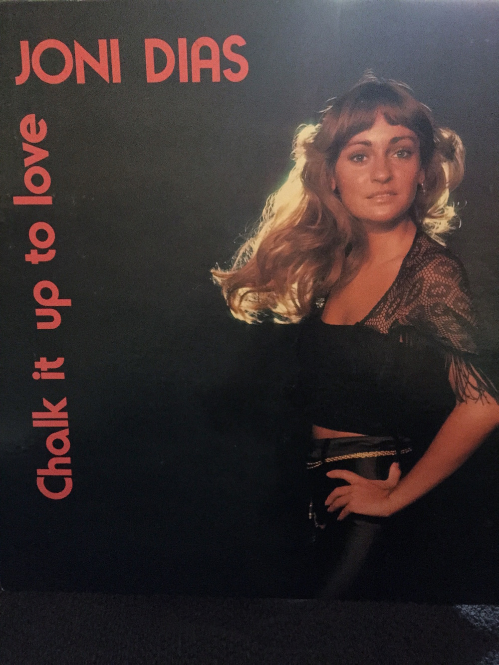 "Album Art for ""Chalk It Up To Love."""
