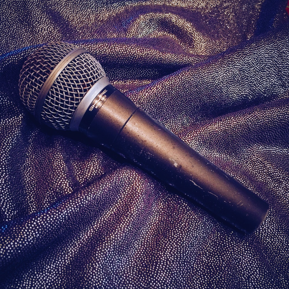 This little gem has been with Joni through thick and thin. A beautiful vintage Shure SM58.