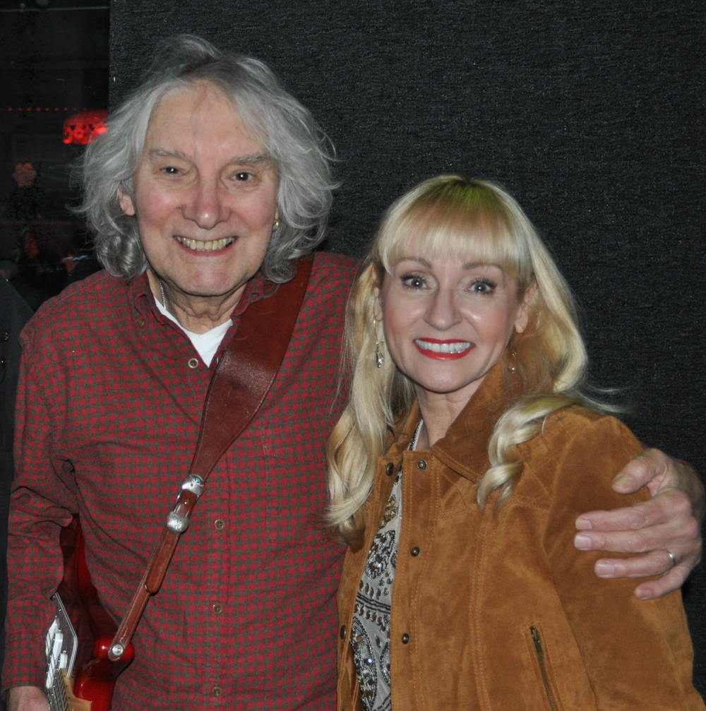 The great guitarist, Albert Lee and Joni performing at Greg Topper's Annual Rock & Roll Christmas Show - Dec. 19, 2015