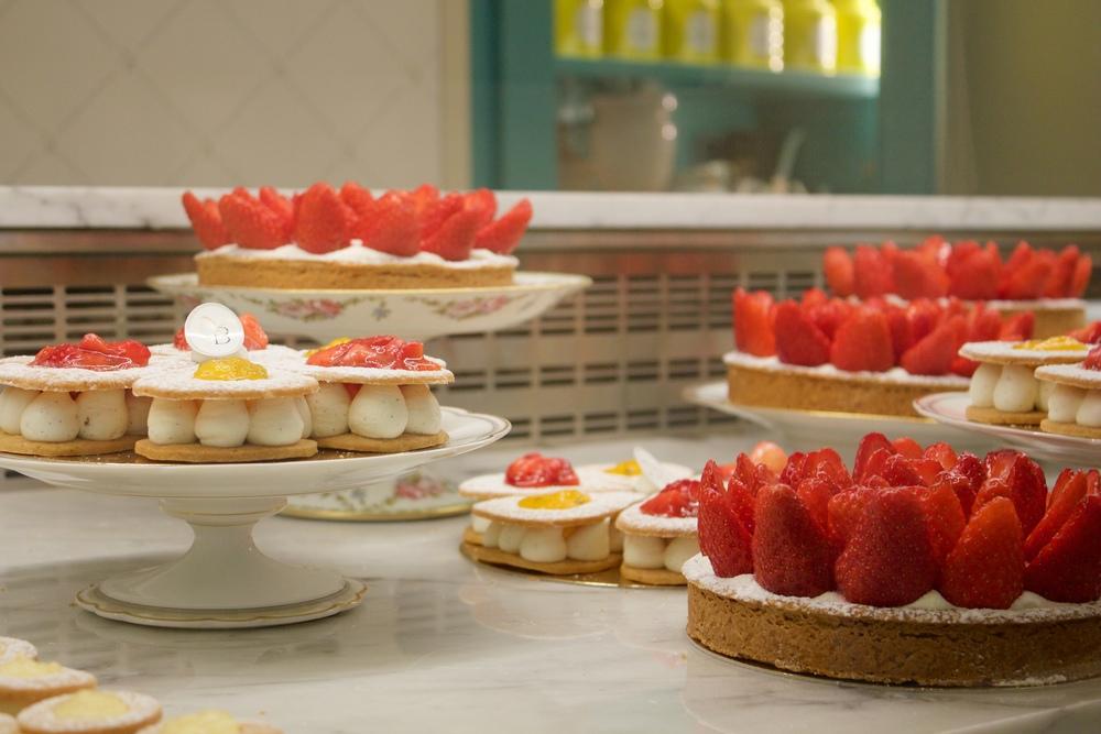 tartes fraises