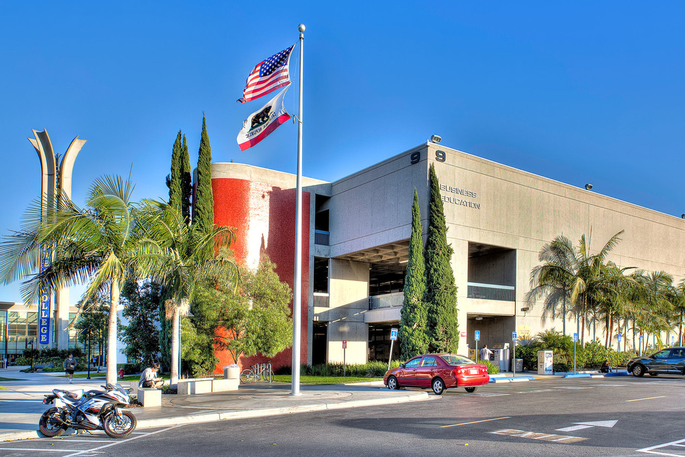 Cypress College Business Building