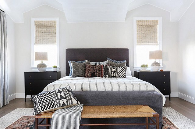• Part 3 •  #masterbedroom #boho #minimal #cozy #white #interiordesign #realestate #mainline #kellerwilliams #philadelphia