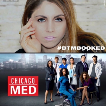 Congrats Dena you are on a roll.... literally! We are so proud of you for your booking on the hit TV show Chicago Med! Keep up the great work!