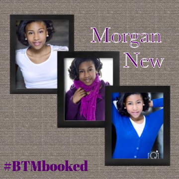 Congrats Morgan for your print ad booking for a MAJOR doll company!