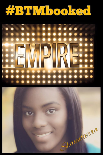 Congratulations Shauntierra for your appearance on Fox Networks hit TV show Empire!