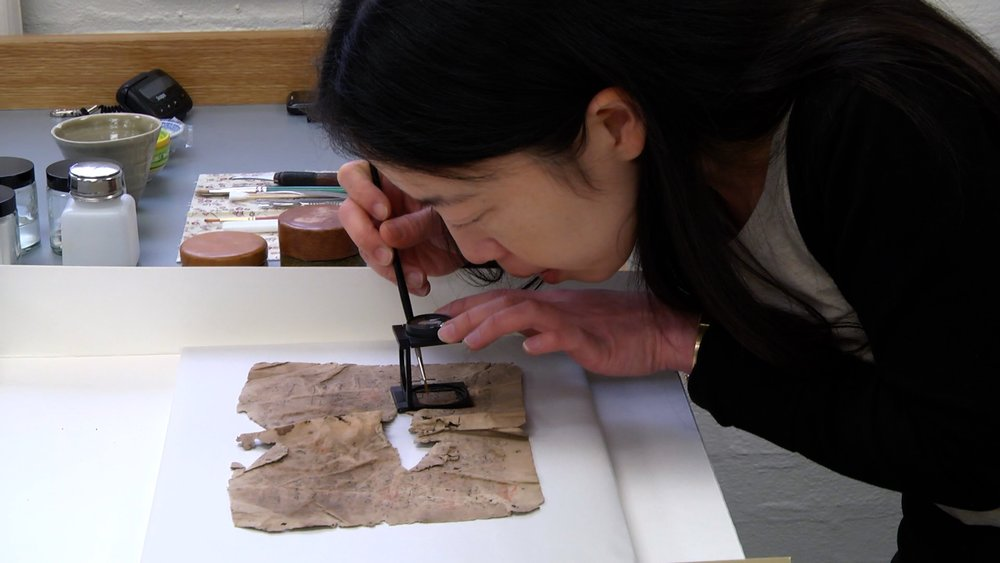 Lucy Chen, Conservator, Cambridge University Library
