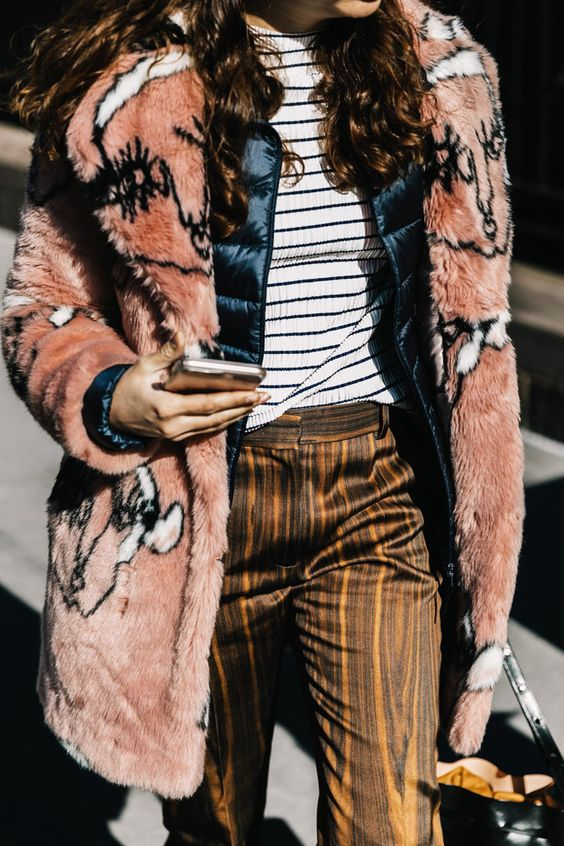 Vintage Furs - While we're on the topic of decades past, go for it and throw a vintage inspired fur jacket over that plaid. It's a pretty good idea if you ask me.