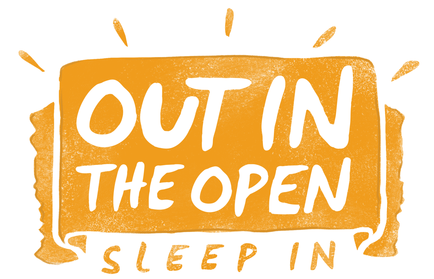 Out in the Open Sleepout