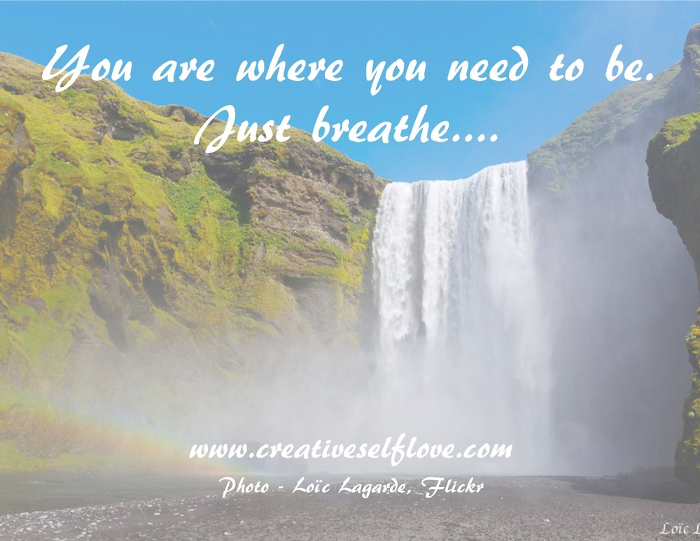 3.1 You Are Where You Need to Be – Graphics by author; photo: Skogarfoss