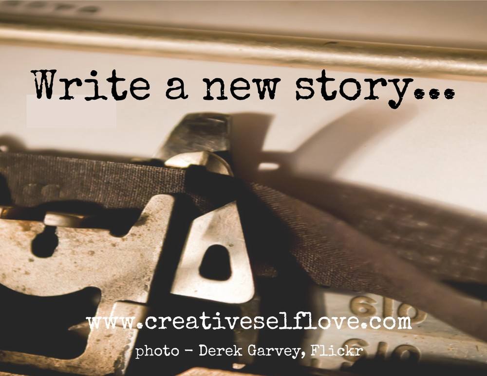3.5 Write a New Story – Graphics by author; photo: Boo by Derek Gavey, Flickr