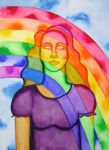 7.1 Healing Rainbow – Rita Loyd © 2015, www.NurturingArt.com, by permission