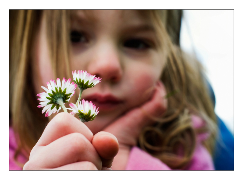 Little Girl Thinking - Jesse Millan, Flickr