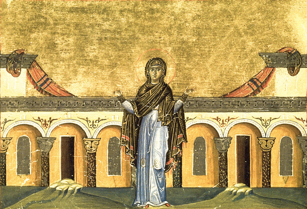 16.1 Righteous Syncletica of Alexandria – Wikicommons