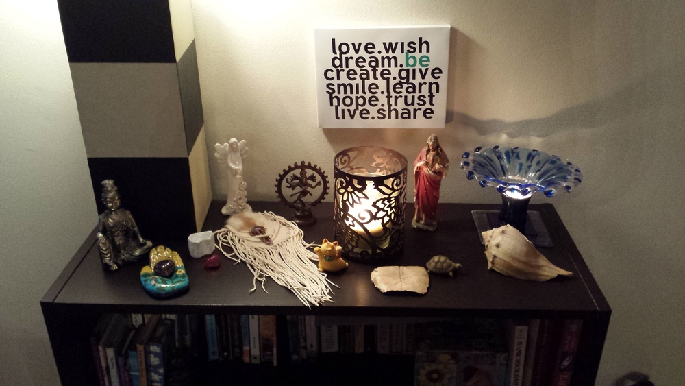 Home Altar – Photo by author