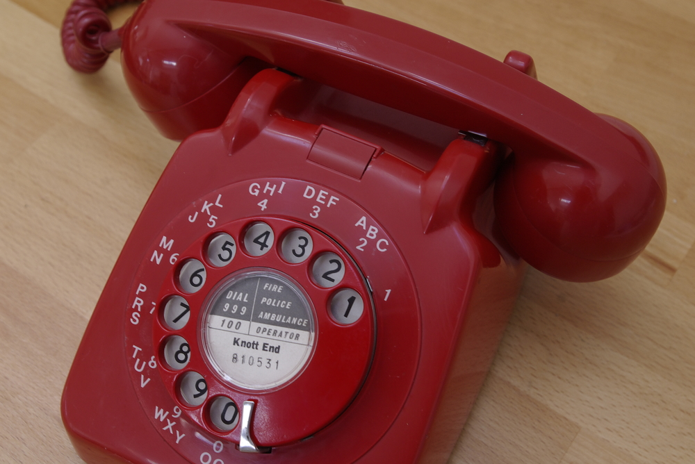"Old Red Phone – ""Red01,"" David Bleasdale, Flickr"