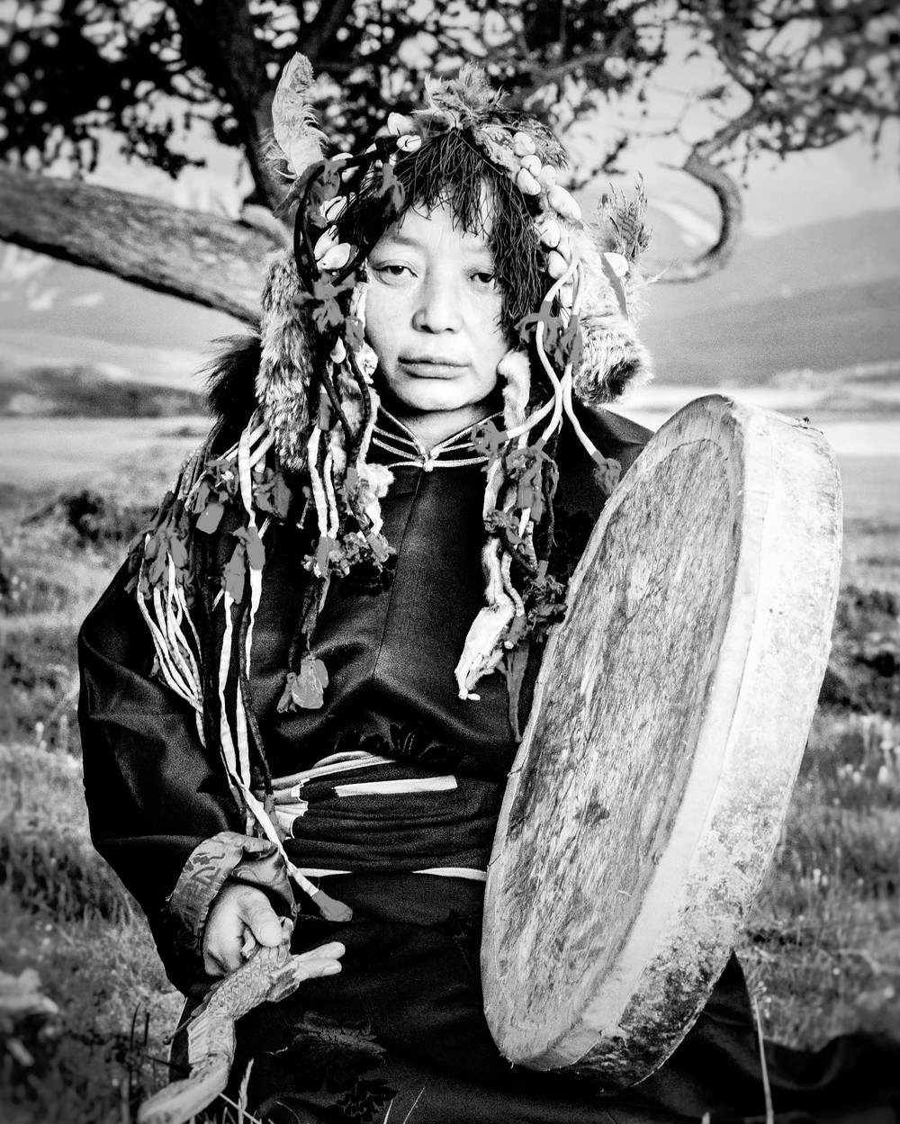 "Galba Tuvan, Shaman Woman – ""The Last of the Tuvan Shaman,"" Flickr"