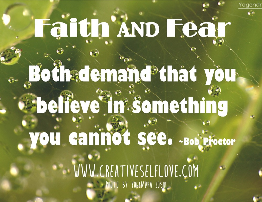 Faith & Fear – Graphics by author; photo: Yogendra Joshi, Flickr