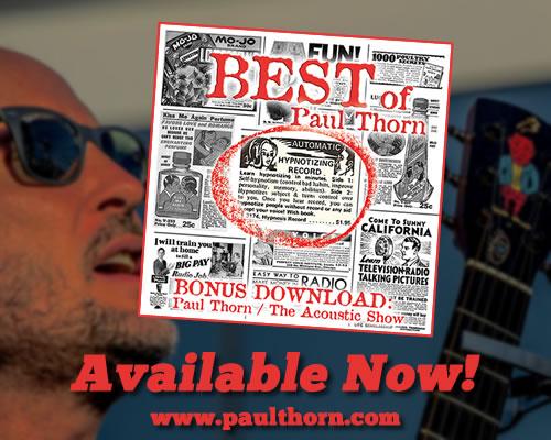 Paul Thorn Band Tour Dates