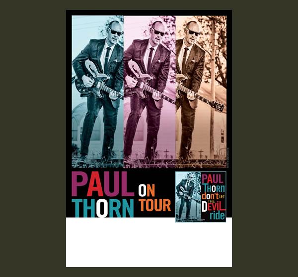 Don't Let The Devil Ride Tour Poster