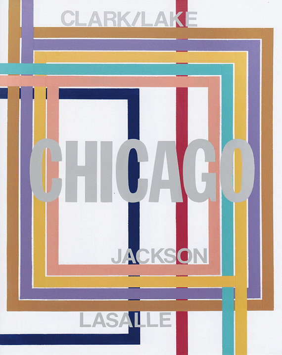 Chicago Loop Print