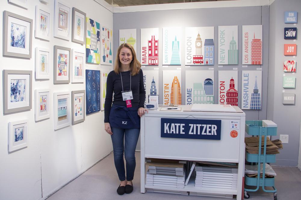 Artist Kate Zitzer