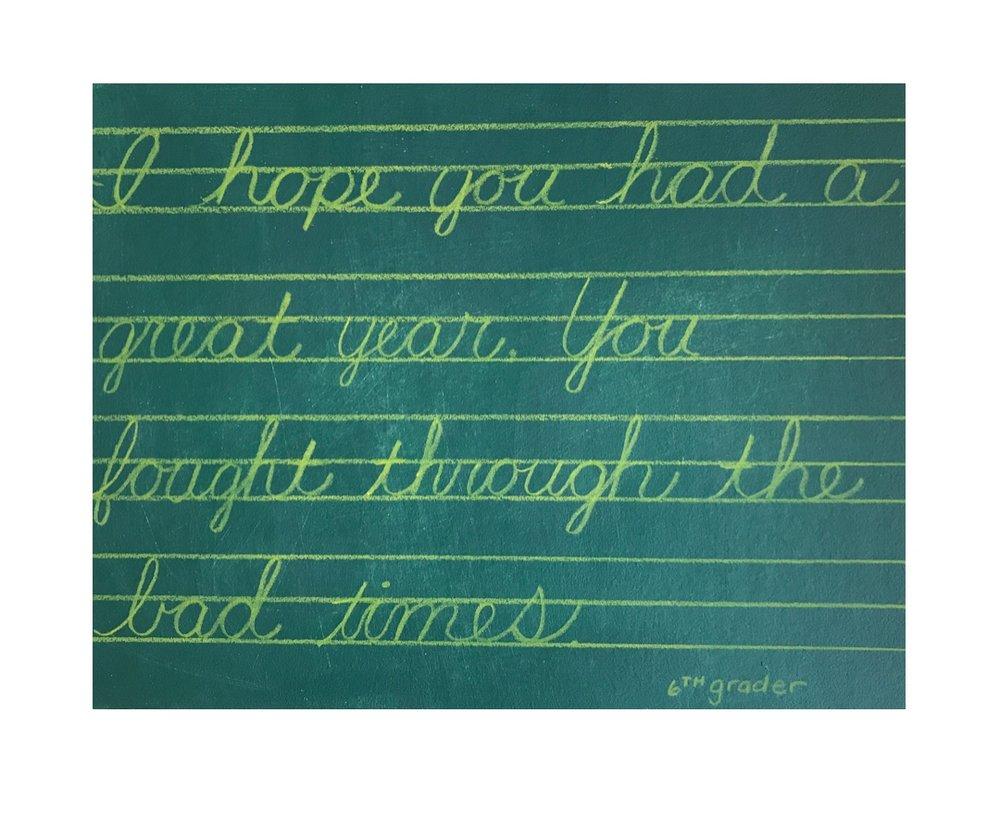 Notes for Teacher: Pep Talk (In Retrospect)