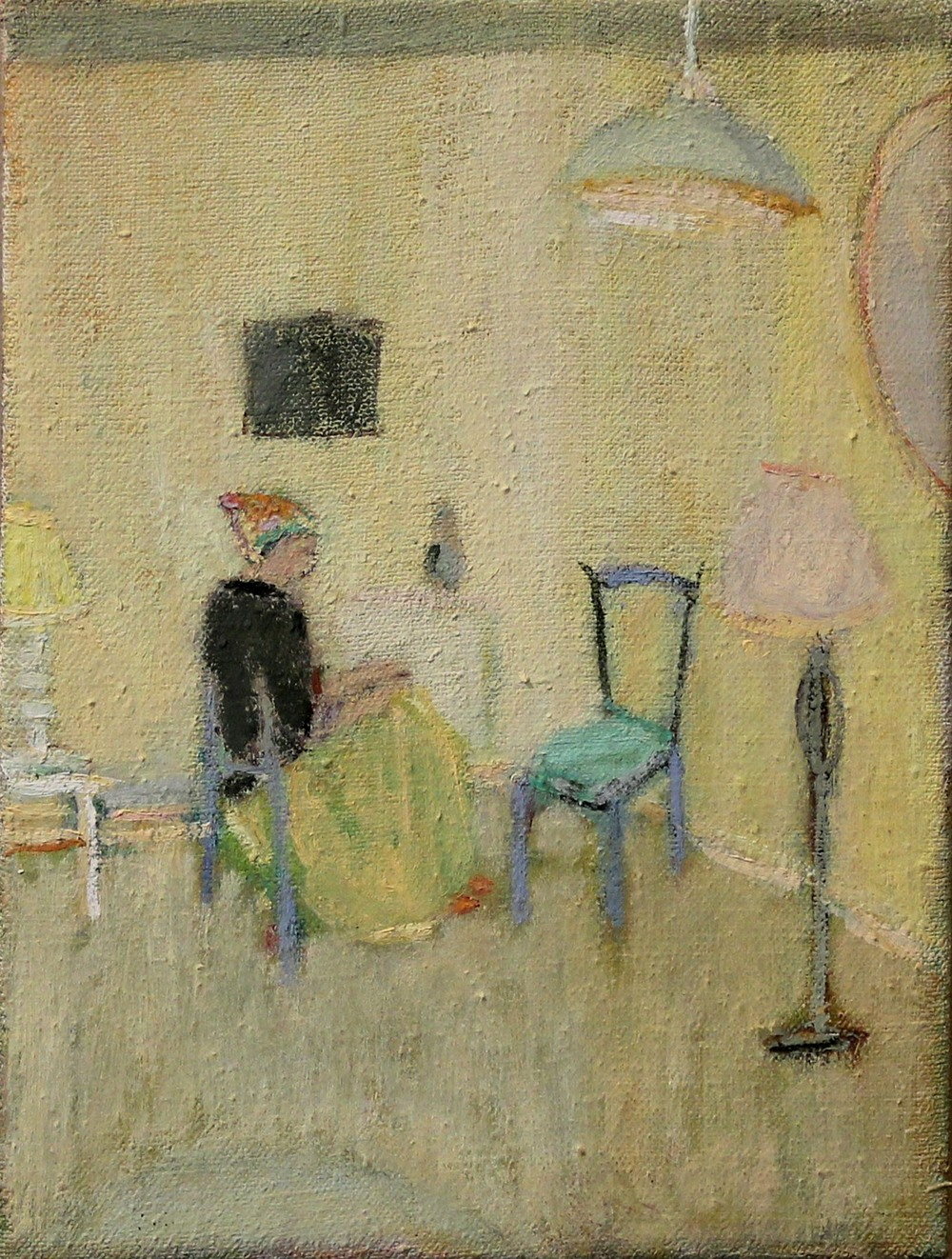 Untitled, Oil on linen, 21 x 15 cm, 2013