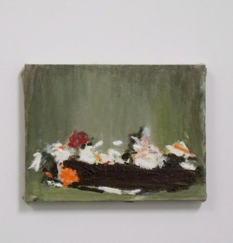 Flowers, Oil on linen, 15 x 20 cm, 2009