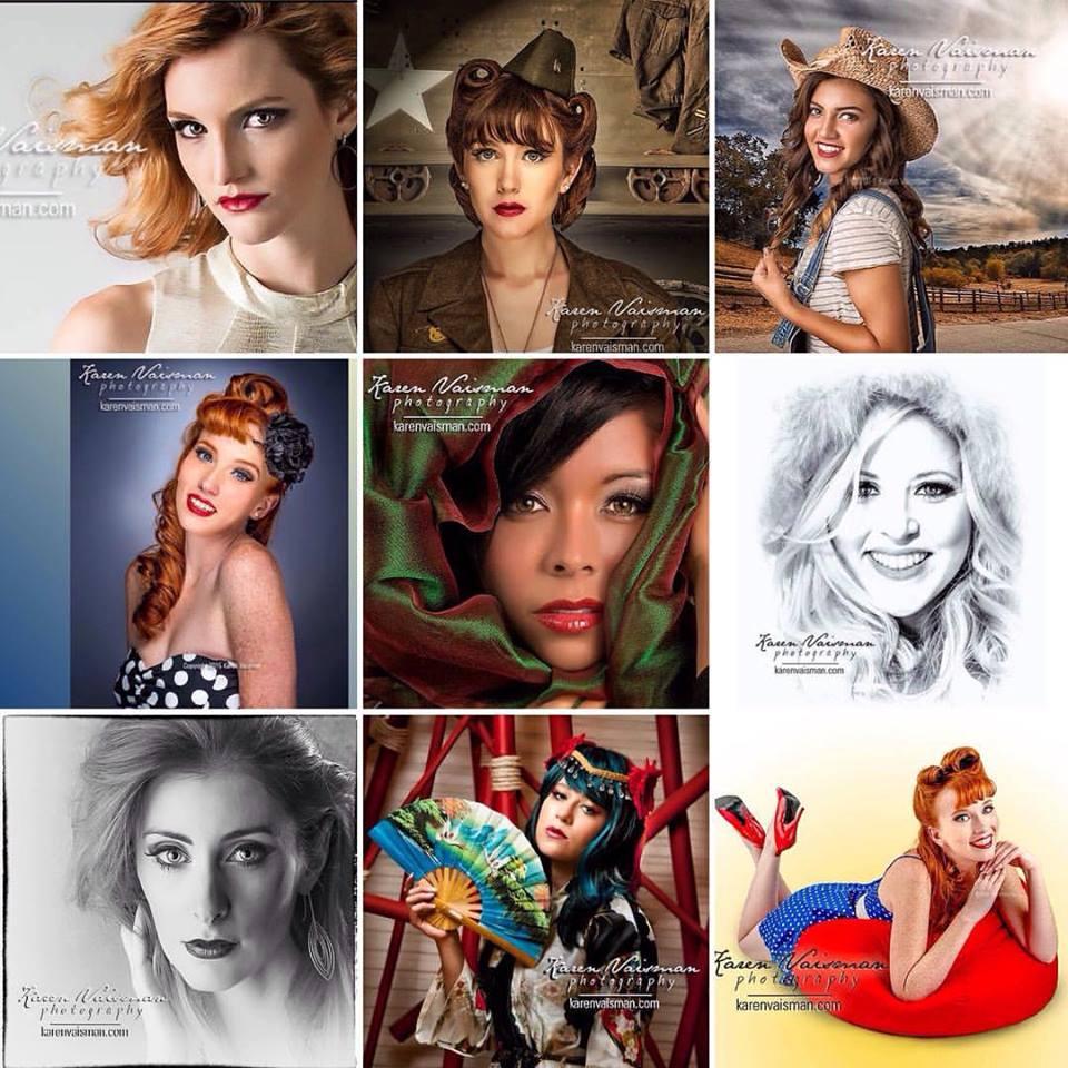 Headshots - Senior Portraits - Glamour - Pinup - Portraits