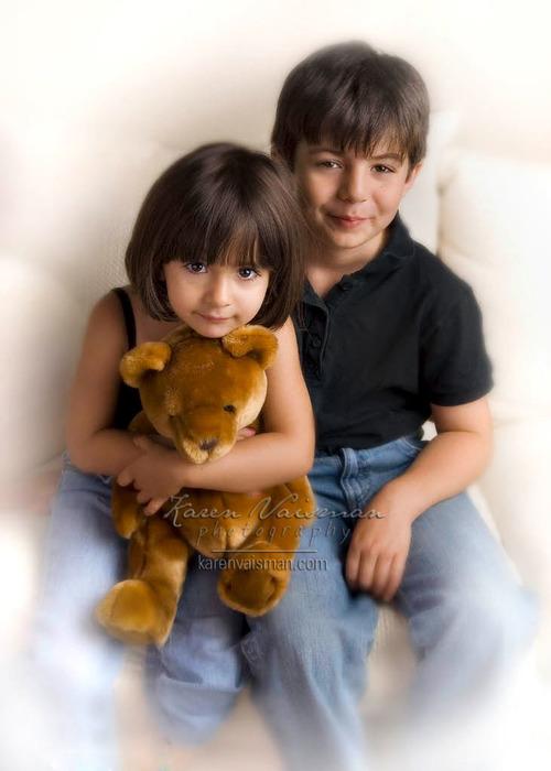 Feel The Love! Family Portraiture with Karen Vaisman Photography  - Calabasas - (818) 991-7787
