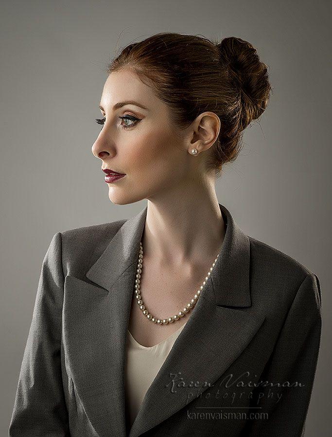 Exquisite Corporate Portrait - Thousand Oaks Business Head Shot - Karen Vaisman Photography