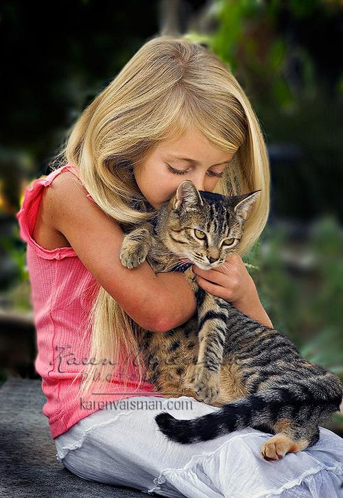 Kids and Kittens Make GREAT Portraits! Call (818) 991-7787 for Your Portrait! Karen Vaisman Photography - Westlake Village CA